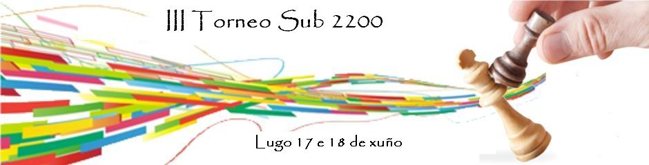 III Torneo Sub 2200 cabeceira