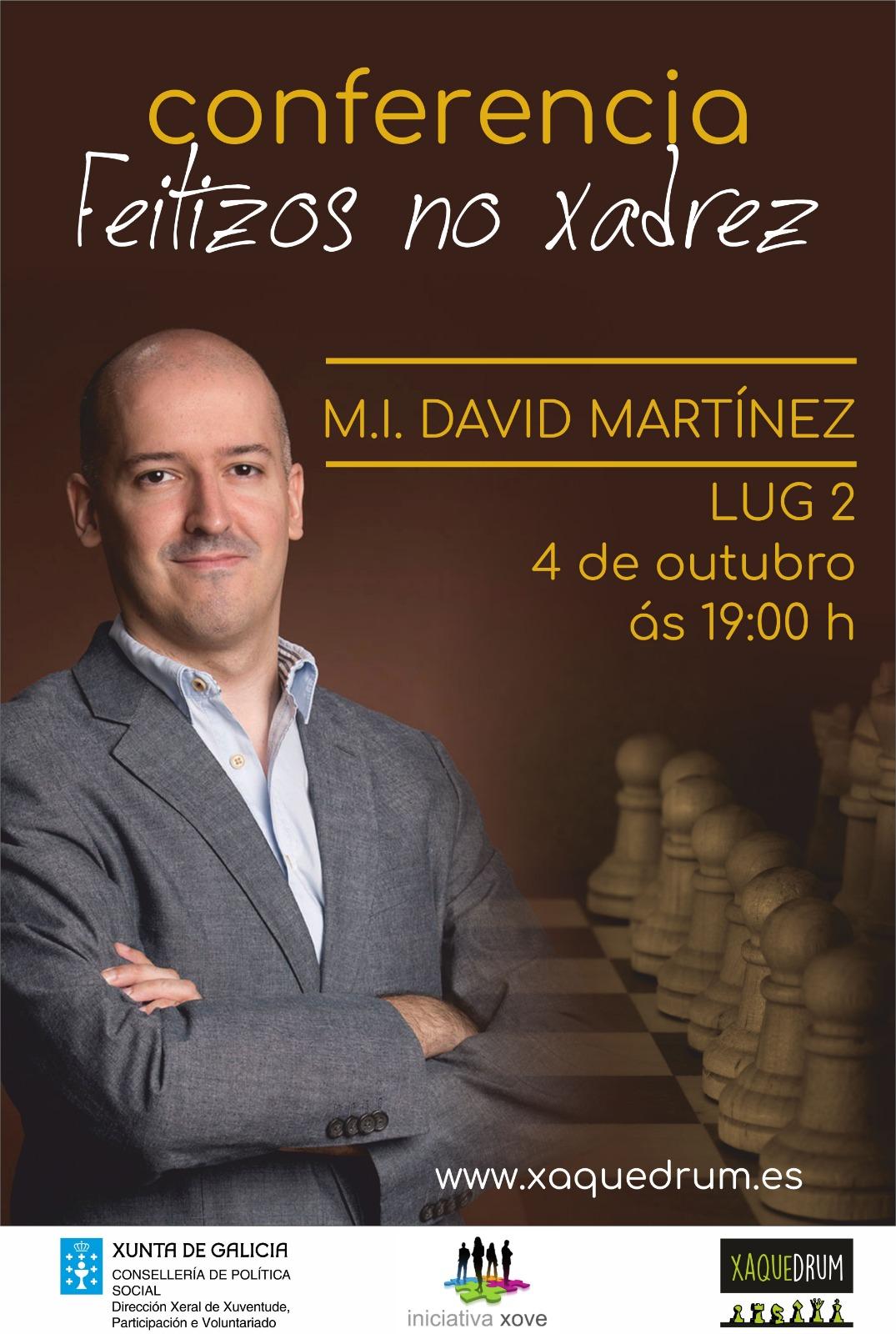 conferencia david martinez