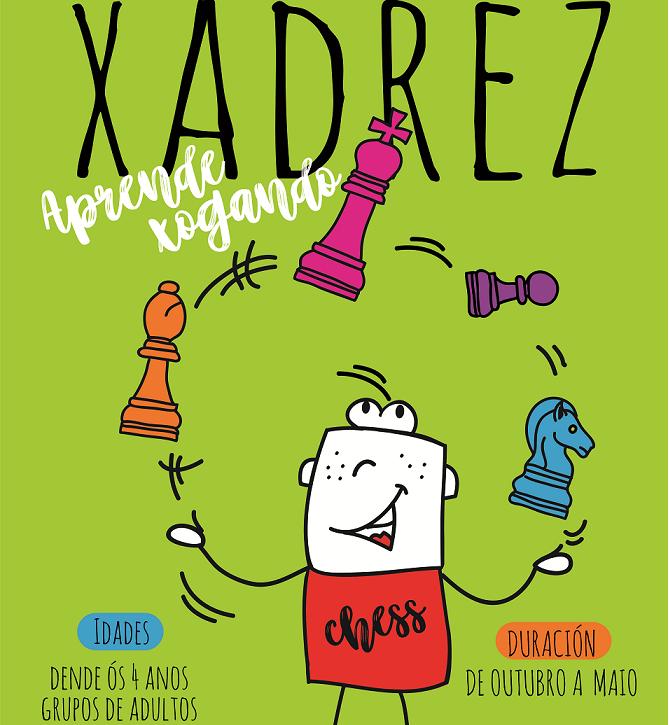 Ecola Luguesa de XAdrez. Clases de Xadrez