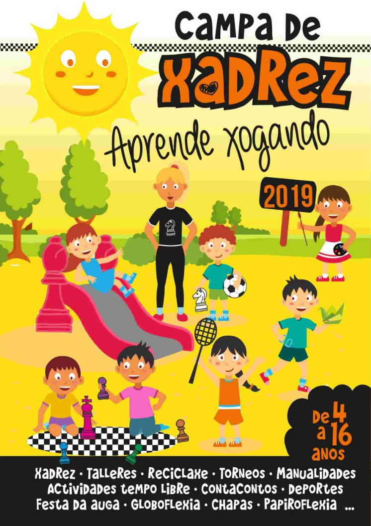 Flyers do Campa de xadrez 2019
