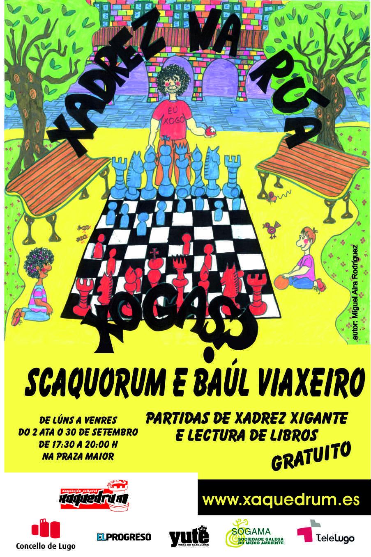 xadrez cartel na rua