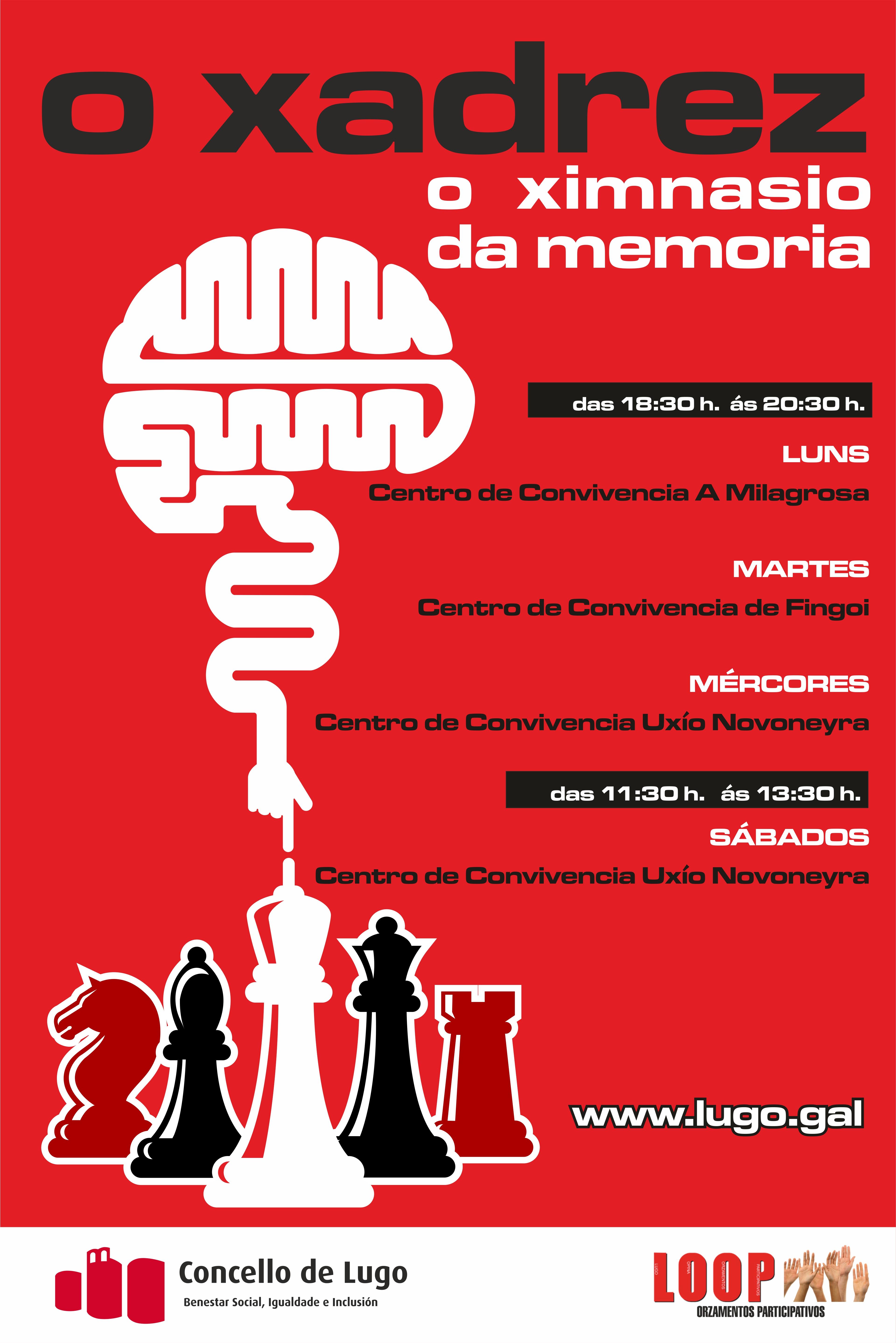 xadrez na memoria